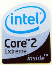 INTEL CORE 2 EXTREME STICKER LOGO AUFKLEBER 19x23mm (292)