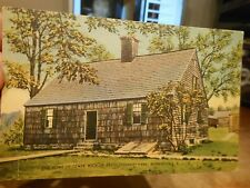 Vintage Old NEW JERSEY Postcard Morristown Tempe Wick House Revolutionary War