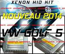 ★2014★ KIT XENON HID AMPOULE H7 VW GOLF 5 V TDI I GTI R32 PACK TUNING CONVERSION