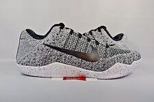 NEW Nike Kobe XI 11 Elite Low OREO BLACK WHITE BEETHOVEN FTB 822675-100 sz 10