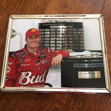 Dale Earnhardt Jr 8 x 10 photo with trophy,Nascar datona 500 2004 winner