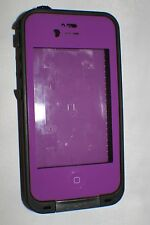 OEM Genuine Lifeproof Waterproof Case for Apple iPhone 4 4S -  Purple/Black