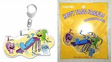 Happy Tree Friends Big Acrylic Key Chain Toothy Lumpy Nutty Sniffles Licensed