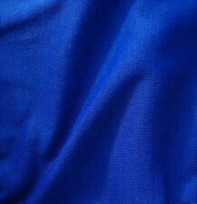 Royal blue fabric Vintage dress material by the METRE Tubular knit Sailor pirate
