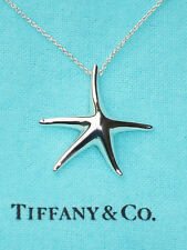 Tiffany & Co Elsa Peretti Sterling Silver Large 28mm Starfish Necklace