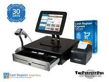 New Retail Point of Sale POS System w/ All Peripherals CRE Program Tablet Bundle