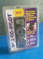 VCR Co-Pilot Master Remote Control with Original Package requires 2 AA batteries