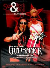 GODSMACK, SEX & ROCK N ROLL NEW! DVD, FREE SHIP, PLAYBOY PLAYMATES,CONCERT