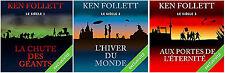 LIVRE AUDIO + EBOOK  TRILOGIE LE SIECLE KEN FOLLETT 1 2 3 - PAS DE CD