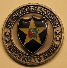 2nd Infantry Division Gen. Robert F Dees Army Challenge Coin