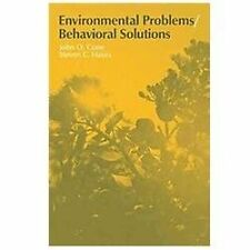 Environment and Behavior: Environmental Problems : Behavioral Solutions No. 4...