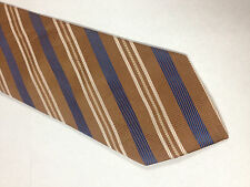 Mens Orange Blue White SILK Tie Necktie OVIESSE~ FREE US SHIP (11004)