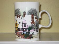 Dunoon CHRISTMAS PAST Bone China Mug Made in England Sue Scullard Design NEW