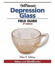 2008 Warman Field Guide Depression Glass Price Guide ID Reference Book NEW
