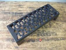 small Cast Iron air Brick Vent Victorian Pattern quality - powder coated black