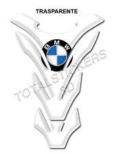 TANK PAD Paraserbatoio RESINATO 3D PER MOTO BMW TRASPARENTE TRANSPARENT  B-107