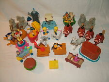 selection of macdonalds happy meal toys