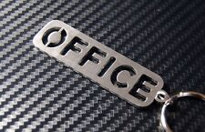 OFFICE Space Room Work Home Desk Computer Business Admin Keyring Keychain Gift