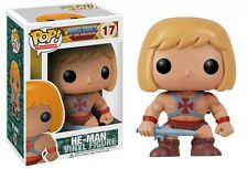 FUNKO BOBBLE HEAD POP MOTU MASTERS OF THE UNIVERSE HE MAN FIGURE NEW!