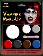 VAMPIRE MULTI PALLET KIT HALLOWEEN SKIN MAKE UP HORROR FACE MAKE UP FANCY DRESS