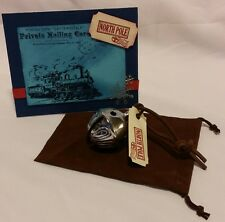 Polar Express Reindeer Bell #4 with HANDMADE card, Keepsake Bag