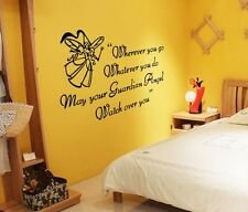 Angel English Home Decor Removable Wall Sticker/Decal/Decoration