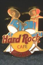 HRC Hard Rock Cafe Honolulu Blue Drum Set Yellow Logo XL Fotos