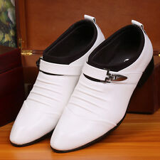 NEW  Men's Formal Wedding Oxfords Casual Leather Shoes Pointed Toe Dress Shoes