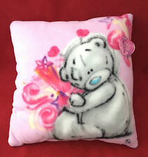 ME TO YOU BEAR TATTY TEDDY SKETCHBOOK PINK SQUARE CUSHION PILLOW GIFT
