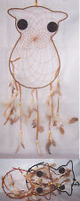 Owl Handmade  Dream Catchers Wall Hanging Decorations  6 Pc  Lot ( ENPDC187 )