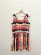 Ace and Jig Ace & Jig Pink check gingham dress Size M
