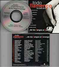 Various ‎– ...De Los Tangos Al Zorongo CD Compilation 1998