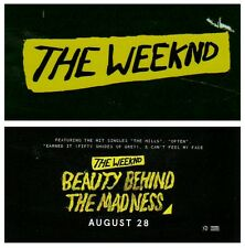 THE WEEKND Beauty Behind The Madness 2015 Ltd Ed RARE Sticker +FREE Stickers!