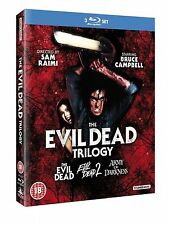 EVIL DEAD TRILOGY ALL 3 FILMS MOVIE COLLECTION BLU RAY BOXSET PART 1 2 3 +EXTRAS