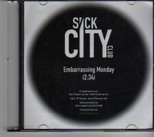 (DR846) Sick City Club, Embarrassing Monday - 2010 DJ CD
