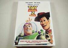 Toy Story/Toy Story 2 DVD 2-Disc Set OUT OF PRINT VERSION Tom Hanks, Tim Allen