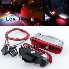 Premium White Red LED Side Door courtesy Lights For VW Golf GTi EOS Jetta Passat