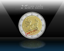 "MONACO 2 EURO Comm. coin 2013 "" 20 Years since it Joined the UN "" UNCIRCULATED"