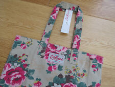 Cath Kidston Beige Shopping Bag With Floral Print -- GREAT VALUE!!