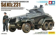 1/35 Tamiya 37024 - German 6-Wheeled Sd.Kfz.231 - Armor car Plastic Model Kit