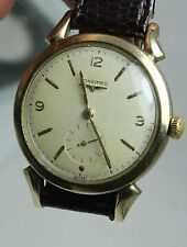 VINTAGE LONGINES TEXTURED DIAL MENS WATCH CIRCA 1940S WORKS