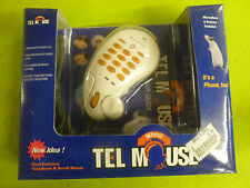 Immanuel Tel Mouse Telephone PS/2 Wheel Scroll Dual Function Dial Windows 95/98
