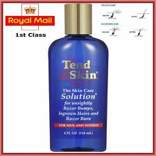 TEND Skin Solution 4oz,118ml Bottle For Razor Bumps, Burns & Ingrown Hairs