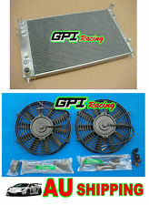 GPI aluminum radiator for Holden Commodore VY 02 03 04 2002 2003 2004 V8 + FAN