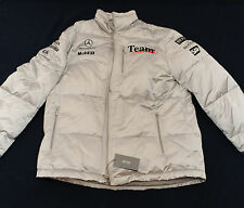 OFFICIAL HUGO BOSS TEAM MCLAREN MERCEDES SILK PUFFER JACKET MEN'S SIZE 56