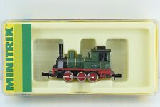 Minitrix 0-6-0 BR89 DR Steam Locomotive Green N Scale (N3)