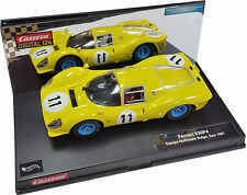 CARRERA DIGITAL 124 FERRARI 330 P4 ECURIE NATIONALE BELGE #11 SPA 1967 23709
