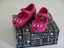 Mini Melissa Ultragirl Cats Pink - toddler size 7 US - NEW