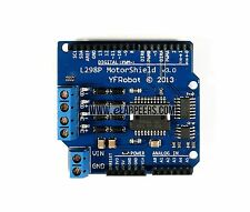 L298P 2A MOTOR DRIVER Arduino Shield (New, Ship from USA)