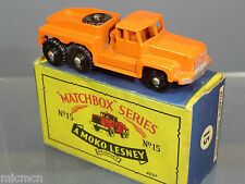 "MATCHBOX MOKO LESNEY MODEL No.15b ""ROTINOFF"" SUPER ATLANTIC TRACTOR MIB"